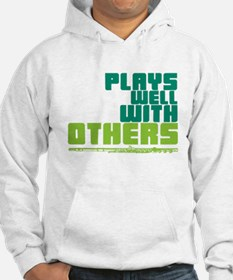 Flute Plays Well Hoodie