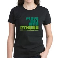 Flute Plays Well Tee