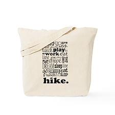 Hiking Gift Tote Bag