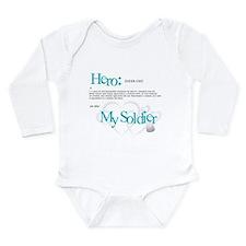 Hero Long Sleeve Infant Bodysuit