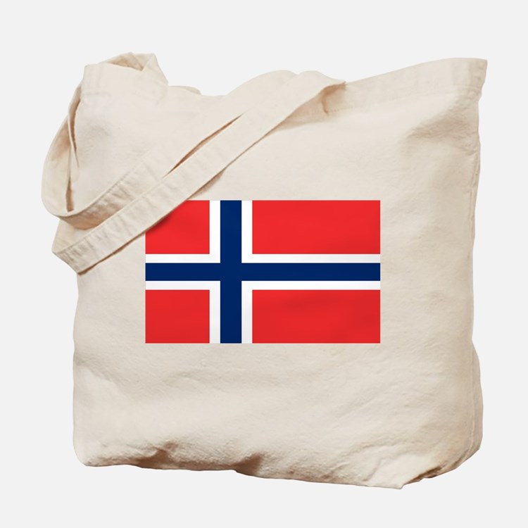 Flag of Norway Tote Bag