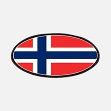 Flag of Norway Patches