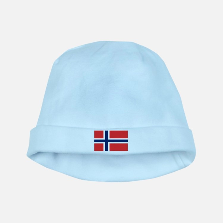 Flag of Norway baby hat