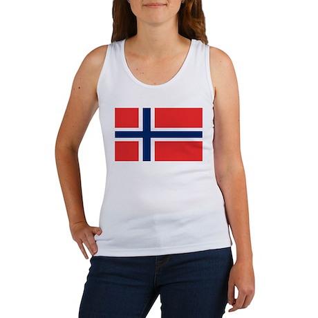 Flag of Norway Women's Tank Top