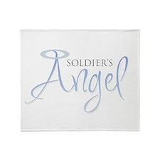 Soldier's Angel Throw Blanket