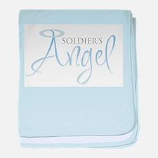 Soldier's Angel baby blanket