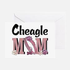 Cheagle MOM Greeting Card
