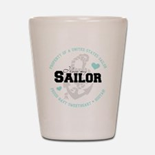Property of a US Sailor Shot Glass