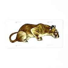 Cougar Aluminum License Plate