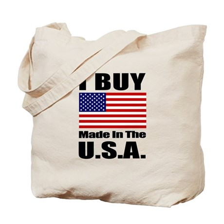 I Buy Made in the U.S.A. - Tote Bag