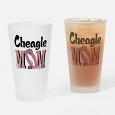 Cheagle MOM Drinking Glass