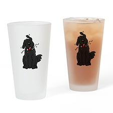 Newfie - Sl1 - Drinking Glass