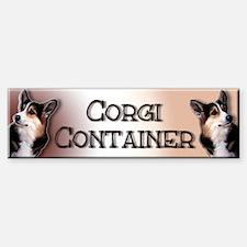Corgi Container - Sticker (Bumper)