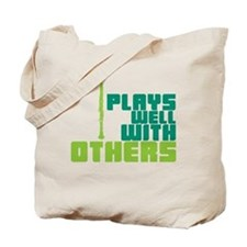 Clarinet (Plays Well With Others) Tote Bag