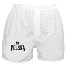 Polska White Eagle Boxer Shorts