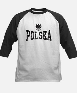 Polska White Eagle Kids Baseball Jersey