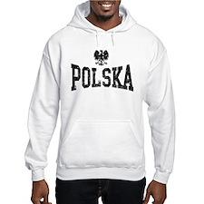 Polska White Eagle Hoodie