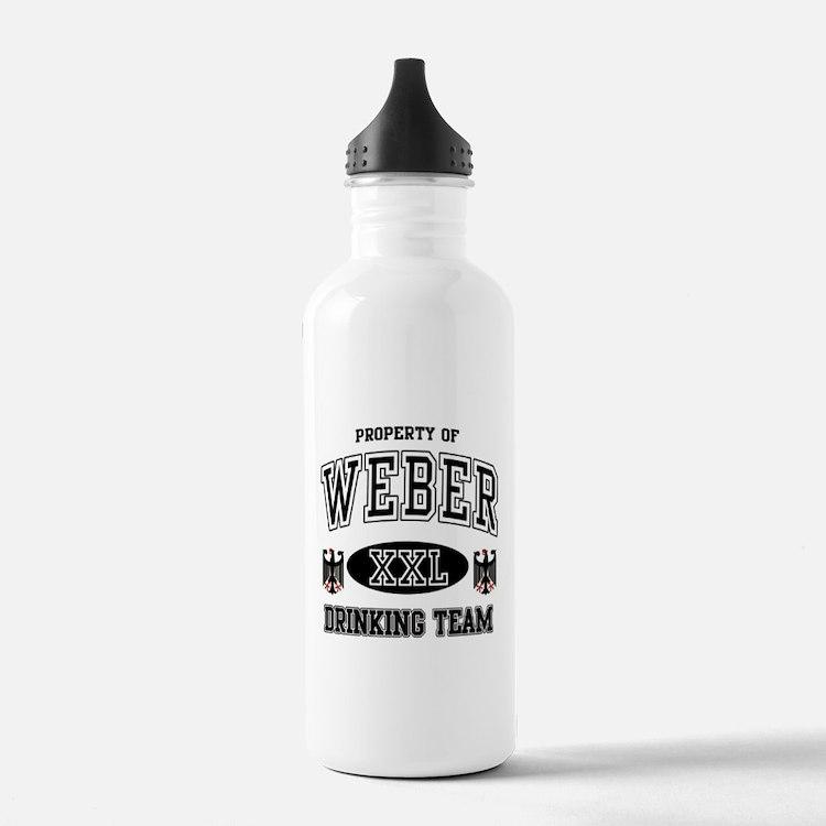 Weber German Drinking Team Water Bottle