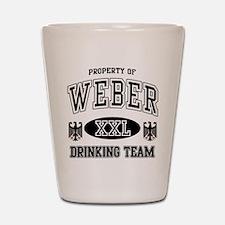 Weber German Drinking Team Shot Glass