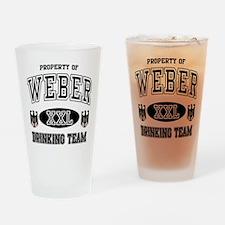Weber German Drinking Team Drinking Glass
