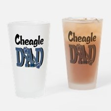 Cheagle DAD Drinking Glass