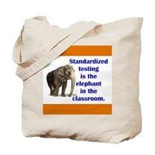 Testing Protest Tote Bag