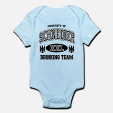 Schneider German Drinking Team Infant Bodysuit