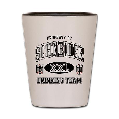 Schneider German Drinking Team Shot Glass