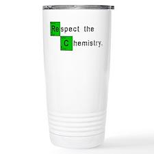 Respect The Chemistry Travel Coffee Mug