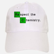Respect The Chemistry Baseball Baseball Cap