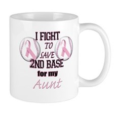 I Fight To Save 2nd Base for Mug