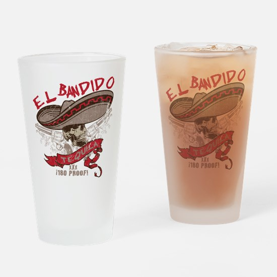 El Bandido Tequila Drinking Glass