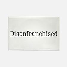 Disenfranchised Rectangle Magnet