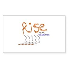 Rise Above Smoking Decal