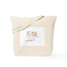 Rise Above Smoking Tote Bag