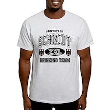 Schmidt German Drinking Team T-Shirt