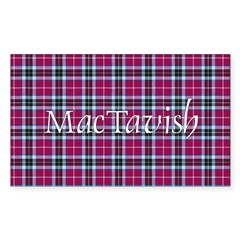 Tartan - MacTavish Sticker (Rectangle 10 pk)