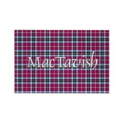 Tartan - MacTavish Rectangle Magnet
