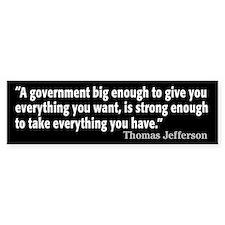 Thomas Jefferson Quote Stickers