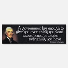 Thomas Jefferson Quote Car Car Sticker