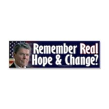 Ronald Reagan Car Magnet 10 x 3