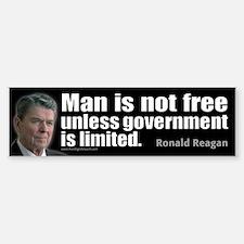 Ronald Reagan Sticker (Bumper)