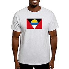 Antigua & Barbuda Flag Ash Grey T-Shirt