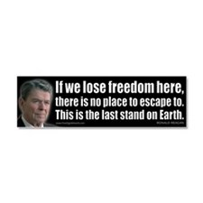 If we lose freedom here... Car Magnet 10 x 3