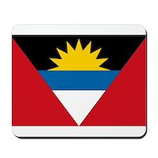 Antigua & Barbuda Flag Mousepad
