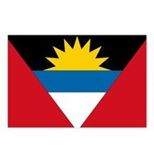 Antigua & Barbuda Flag Postcards (Package of 8)