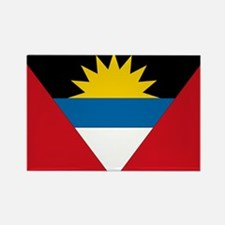 Antigua & Barbuda Flag Rectangle Magnet