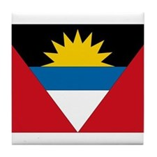 Antigua & Barbuda Flag Tile Coaster