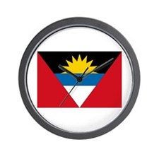 Antigua & Barbuda Flag Wall Clock