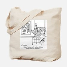 Power Tools for Only $25 Tote Bag